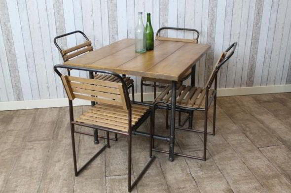 industrial style cafe tables restaurant furniture