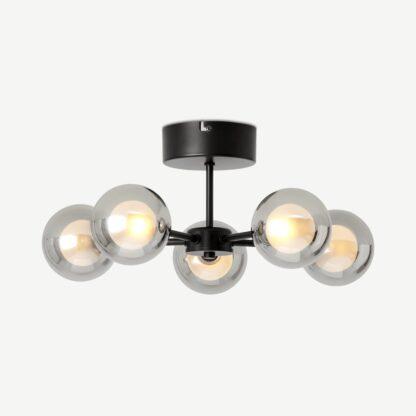 Masako LED 5 Light Flush Ceiling Lamp