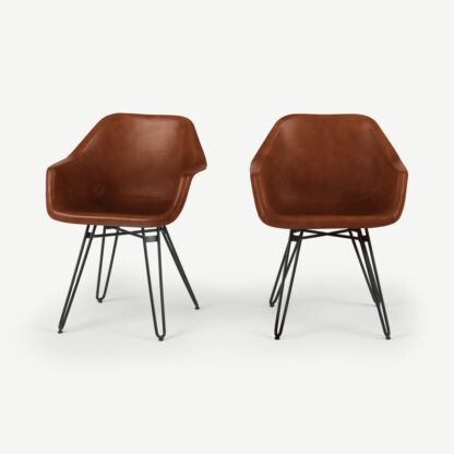Set of 2 Hektor Tub Dining Chair